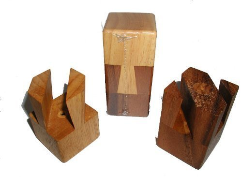 Impossible Wood Brain Teaser Puzzle product image