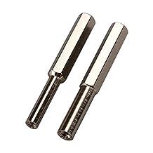 Timorn Security Bit Steel SET 3.8mm & 4.5mm Security Screwdriver Tool for Nintendo NGC/SFC/N64/SEGA (1x 3.8 mm + 1x 4.5 mm)
