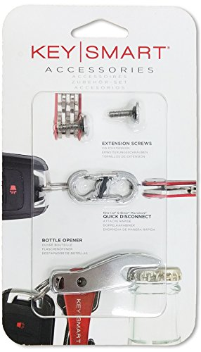 KeySmart Accessory Pack - Expansion Pack-14 Keys, Quick Disconnect and Bottle Opener