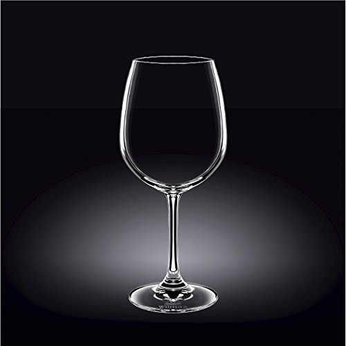 Wilmax 888014 600 ml Wine Glass Set of 644; Pack of 4 by Wilmax
