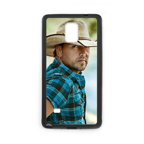 2015 New Country Music Singer Jason Aldean Cool Man Design Hard Protective Back Cover Shell for SamSung Galaxy Note4 Phone (Chucky Doll For Sale Cheap)
