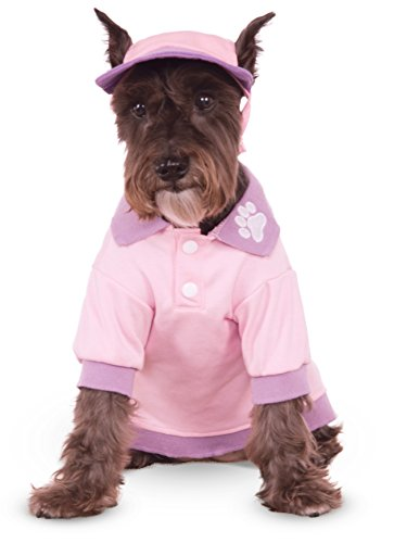 Pink Polo Shirt for Pet, -