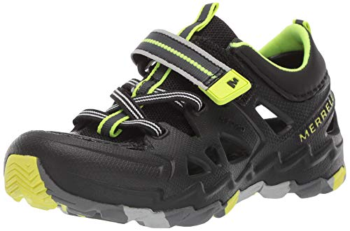 Merrell Boys' Hydro 2.0 Sandal Black/Citron 9 Medium US Toddler