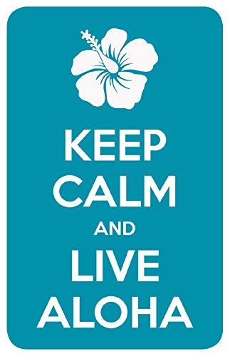 Keep Calm Live Aloha Hawaiian product image