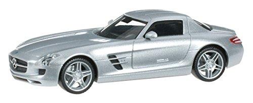 1/87 メルセデスベンツ SLS AMG(イリジウムシルバー) 034418-004