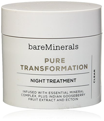 Cream Night Mineral (bareMinerals Skinsorials Pure Transformation Night Treatment, 0.15 Ounce)