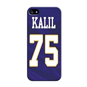Personalized Nfl Minnesota Vikings Game Case For Iphone 5/5S Cover Case Protector&Decoration