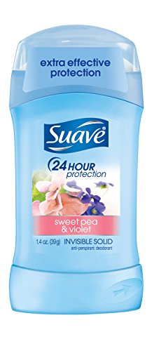 Suave Sweet Pea and Violet Antiperspirant Deodorant, 1.4 oz by SUAVE DEO