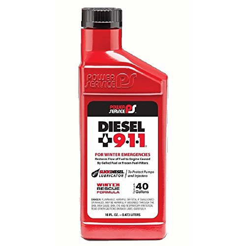 (Power Service 08016-09 Diesel 9•1•1 Fuel Additive - 16 oz.)