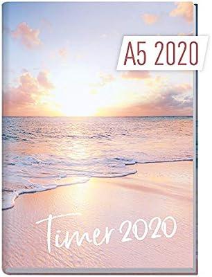 A5 Kalender 2020 Jan bis Dez Wochenkalender Terminkalender mit Wochenplaner
