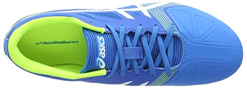 Adulto Asics Hypersprint Splash 6 Diva White Atletismo de Aqua Blue Azul Unisex Zapatillas ZYZdrwq