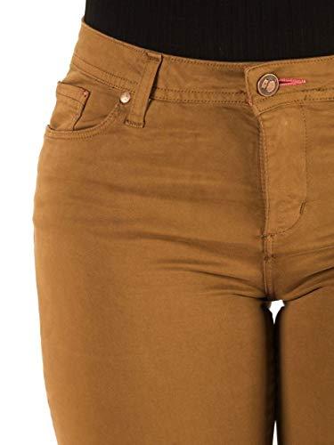Capitán Denim Jeans Mujer Pantalón Hardy Tabaco: Amazon.es ...