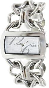 DKNY Women's NY4367 Textured Silvertone Dial Watch from DKNY