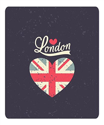 Graffiti London Anti Slip Comfort Mouse Pad