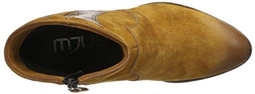 Mjus 284210-0101-0002, Zapatillas de Estar por Casa para Mujer Marrón - Braun (tan+cuoio)