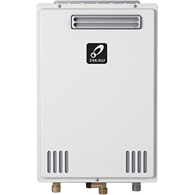 Takagi T-K4U-OS 190000 BTU Outdoor Whole House Tankless Water Heater, Natural Gas
