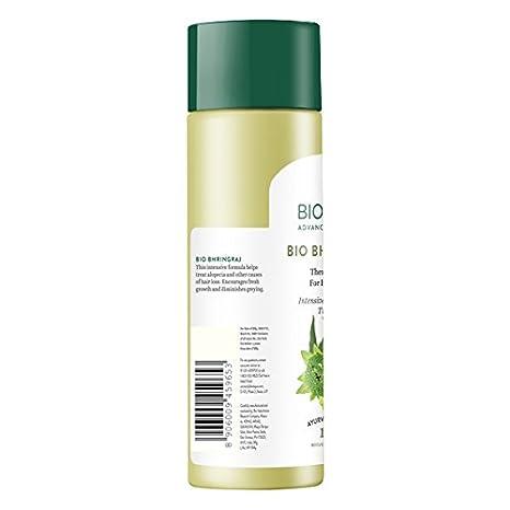 Biotique bhringraj nuevo crecimiento terapéutico aceite para Fine y adelgazamiento del cabello: Amazon.es: Belleza