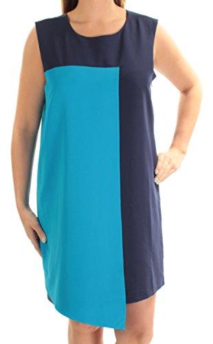 Malandrino B Catherine Shift Dress Color 1587 Block New 14 128 B Womens Navy 4qxfdOqR