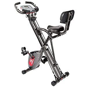 Well-Being-Matters 411OxS1H4KL._SS300_ ADVENOR Exercise Bike Magnetic Bike Fitness Bike Cycle Folding Stationary Bike Arm Resistance Band With Arm Workout…