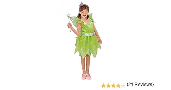 Disfraz Hada Campanilla Niña Infantil Para Carnaval (2-4 Años ...