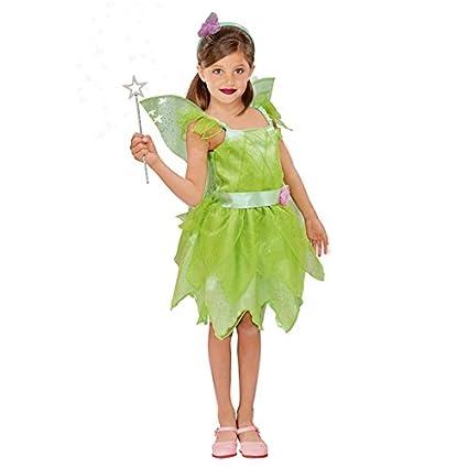 Disfraz Hada Campanilla niña Infantil para Carnaval (10-12 años)