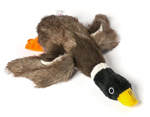 The Mallard Duck (Dogloveit Mallard Duck Squeaky Dog Toys for Small Dogs Plush Dog Toys, 12-inch)