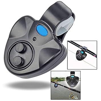 OFKPO Detector de Picada Pesca, Alarma de Picada de LED para Caña de Pescar: Amazon.es: Electrónica