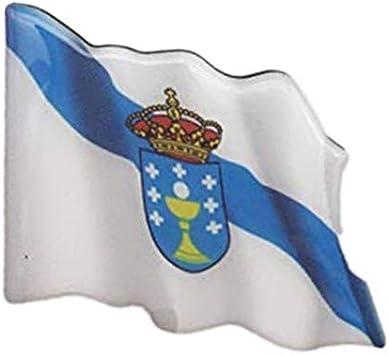 IMAN Nevera DE Bandera Galicia: Amazon.es: Hogar