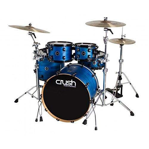 Crush Drums Chameleon Ash 5 Piece Shell Pack, Includes 22x18