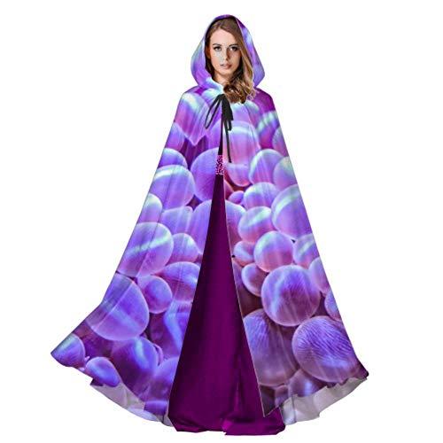 Tank Girl Ripper Costumes - Beautiful Grape Corals in Aquarium Hooded