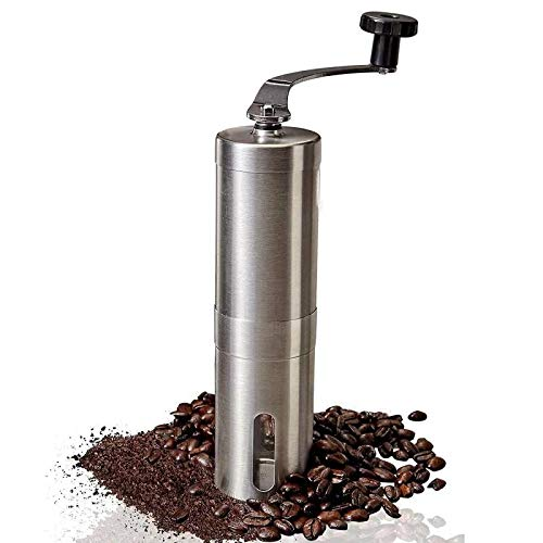 (Manual Coffee Grinder, Portable Conical Burr Mil)