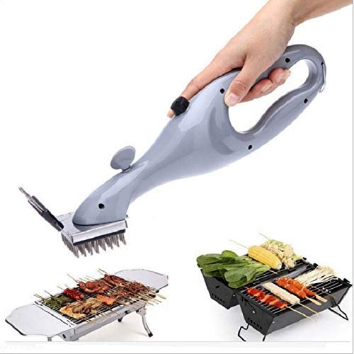 (Barbecue Stainless Steel BBQ Cleaning Brush Outdoor Grill Cleaner with Steam Power BBQ Accessories Cooking Tools )