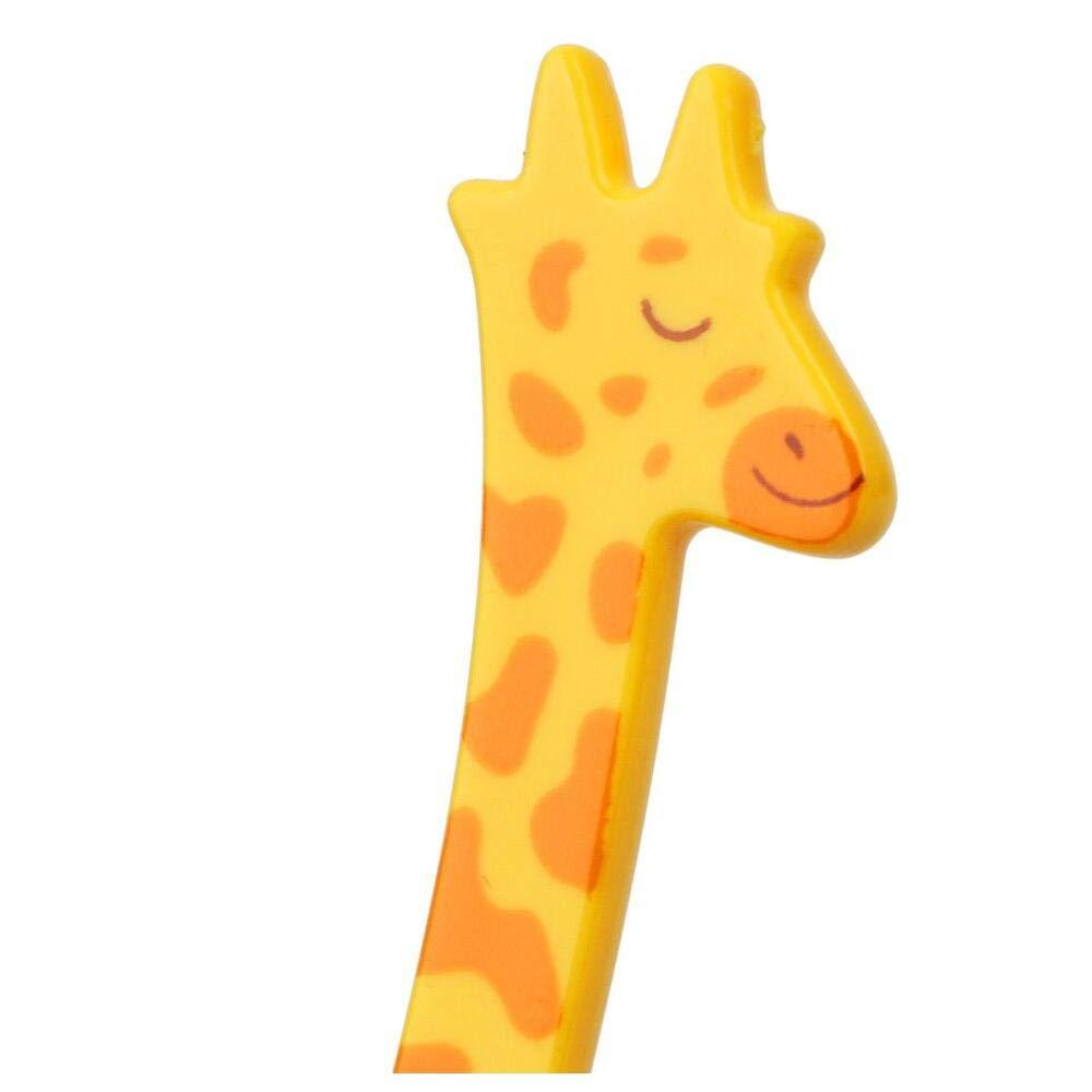 12pcs Set Lebensmittel Picks Fruit Snack Zahnstocher Geschirr-K/üche-Werkzeug Cartoon Giraffe Form Gadgets Salat W/üste Gabeln