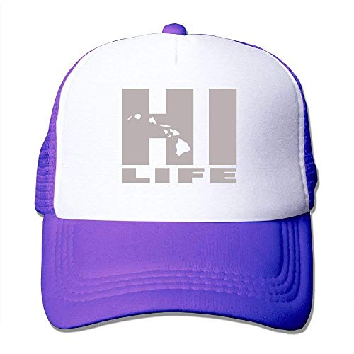 Men/Women Hi Life Hawaii Mesh Snapback Hats Adjustable Baseball Hat