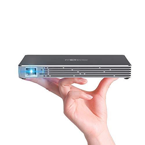 Mini Projector, Smart Pico Projector 1080P HD...