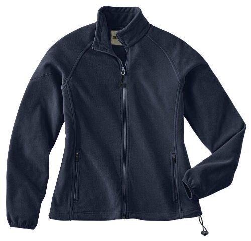Ladies' Microfleece Unlined Jacket, Color: Midnight Navy, Size: X-Large