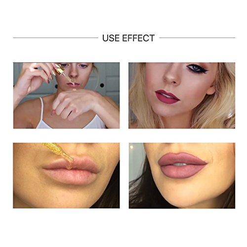 Hot 24k Rose Gold Elixir Skin Make Up Oil For Face Essential Oil Before Primer Foundation Moisturizing Face Oil Anti-aging by Bao Te' (Image #6)