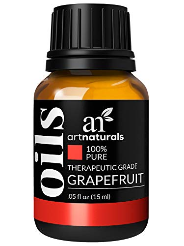 - ArtNaturals 100% Pure Grapefruit Essential Oil - (.5 Fl Oz / 15ml) - Undilued Therapeutic Grade - Uplift Detoxify and Energize