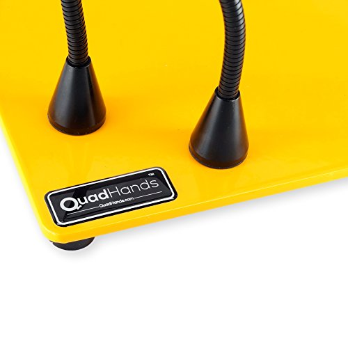 QuadHands Deluxe WorkBench Helping Hands Third Hand System - Magnetic Mount Arms Can be Positioned Anywhere - Ultimate Flexibility by QuadHands (Image #5)