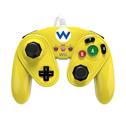 Best Wireless Gamecube Controller (PDP Wired Fight Pad for Wii U - Wario)