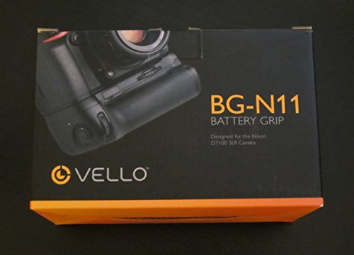 Vello - BG-N11 Battery Grip for Nikon D7100 & D7200 by Vello