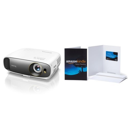 BenQ HT2550 4K UHD HDR Home Theater Projector, 8.3 Million Pixels, 2200 Lumens, Rec.709, Audiovisual Enhancer, 3D, HDMI & $100 Amazon.com Gift Card