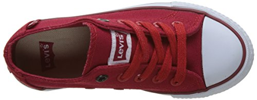 Levis Trucker Low Lace - Botas Niños Rouge (Red)