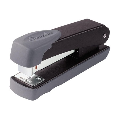 Wholesale CASE of 15 - Swingline Compact Standard Desk Staplers-Desk Stapler,Staples 20 Sheet Cap, 105 Per Strip, Black 105 Staple Cap