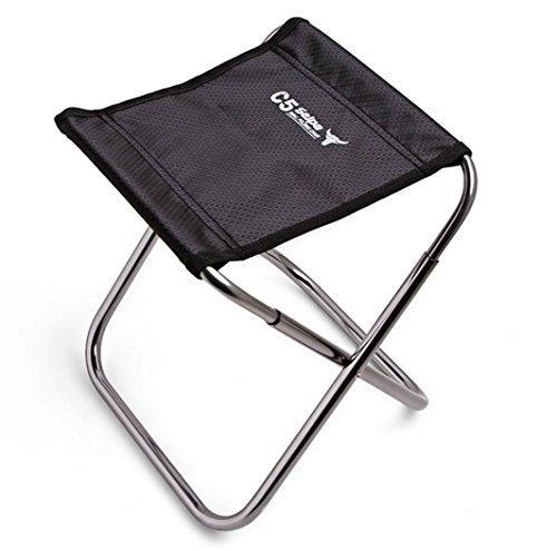 Picnic Stool (Amicc-selpa Portable Camping Chair Folding Aluminum Picnic Seat Fishing Stool (M))
