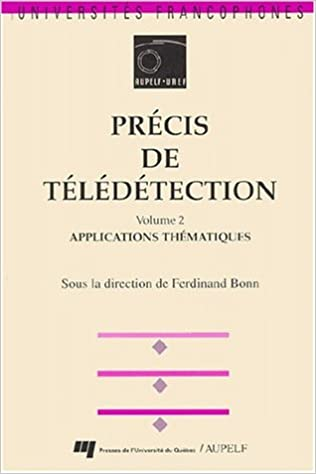 Lire un PRECIS DE TELEDETECTION. Volume 2, Applications thématiques pdf epub