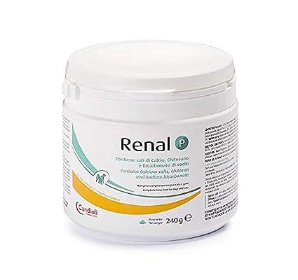 Candioli Farmaceutici - Renal P, Integratore per Cani e Gatti, Barattolo da 240 g