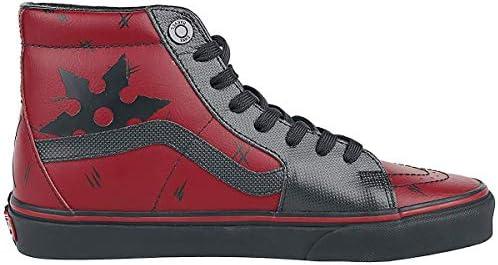 Vans Unisex X Marvel SK8-Hi Skate Shoes