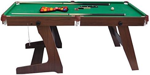 hj Snooker Mesa Billar Mini Mesa Juego para Familia Bares, Buen ...