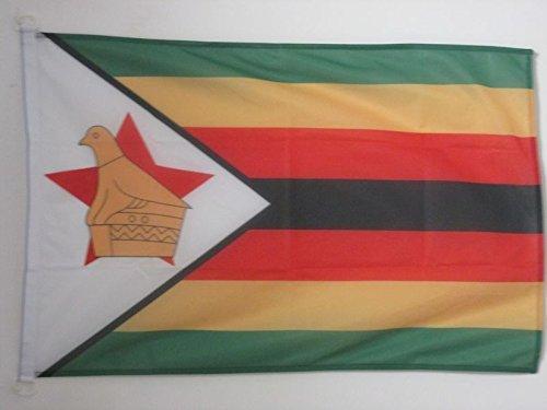 (AZ FLAG Zimbabwe Nautical Flag 18'' x 12'' - Zimbabwean Flags 30 x 45 cm - Banner 12x18 in for Boat)